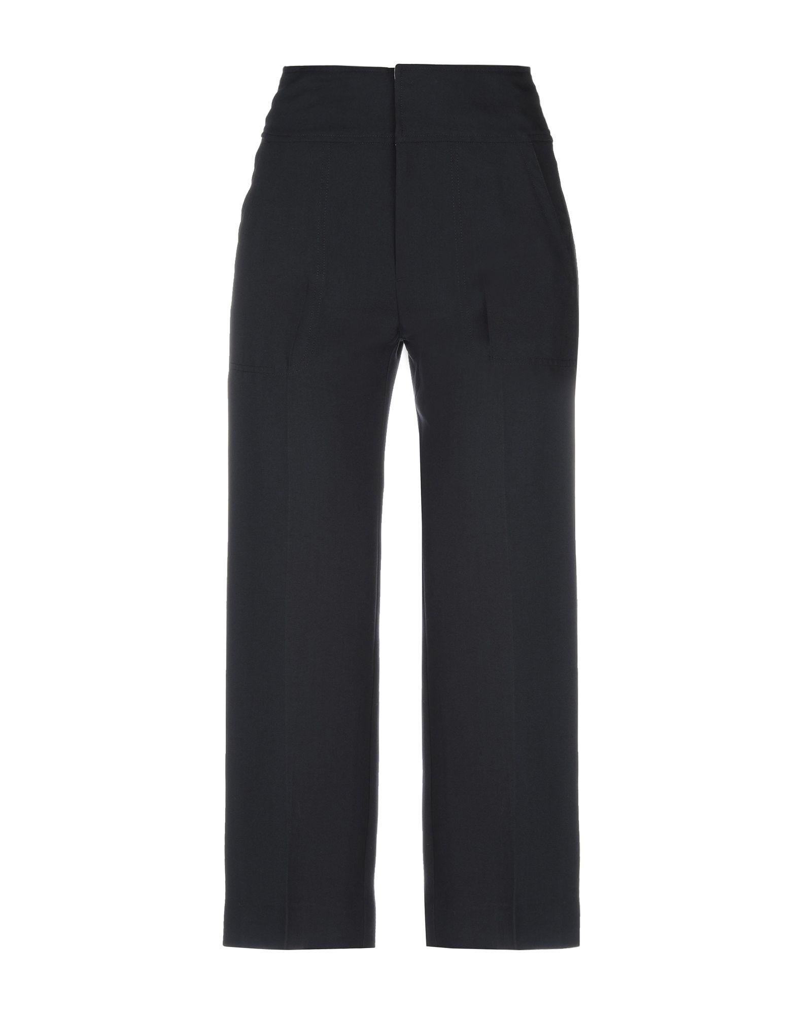 Muveil Casual Pants In Steel Grey