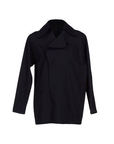 Emporio Armani Double Breasted Pea Coat In Black
