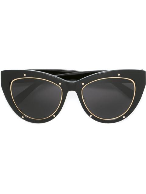 9a8cb902fc Mcm 53Mm Studded Cat S-Eye Sunglasses In Black