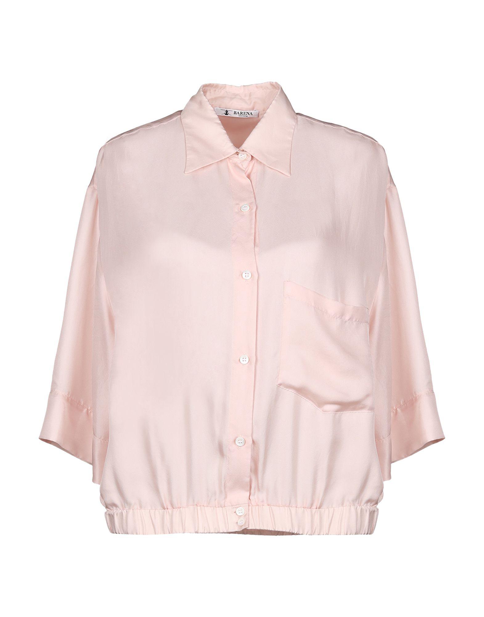 Barena Venezia Silk Shirts & Blouses In Light Pink