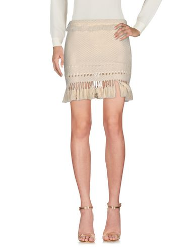 Isabel Marant Mini Skirt In Beige