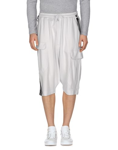 Y-3 Bermudas In White