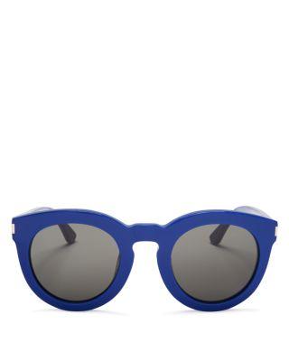 Saint Laurent Women's Surf Sunglasses In Blue