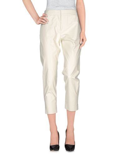 Msgm Casual Pants In Ivory