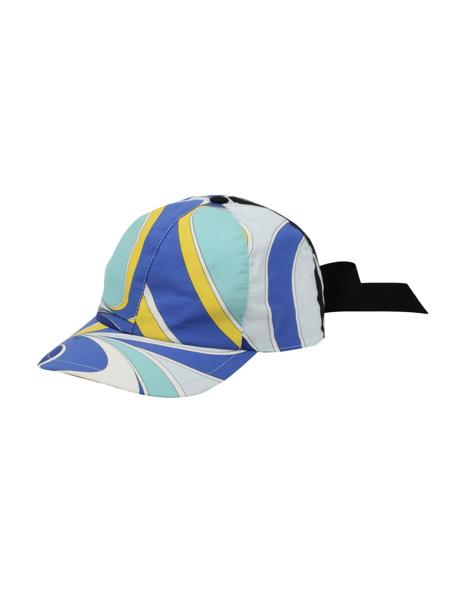 2b676c089cef6 Emilio Pucci Hats In Blue