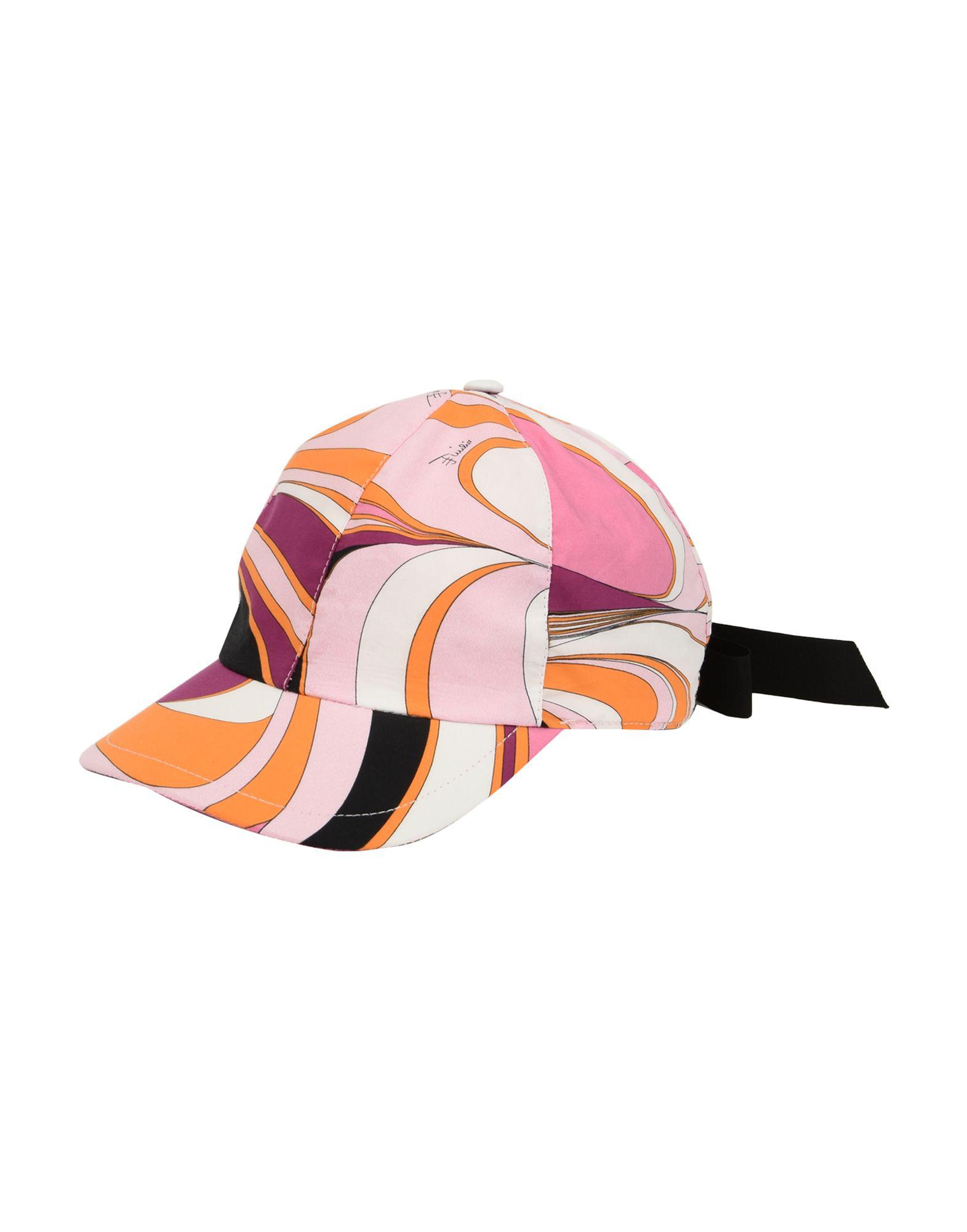 ae71ec0a5263f Emilio Pucci Hat In Pink