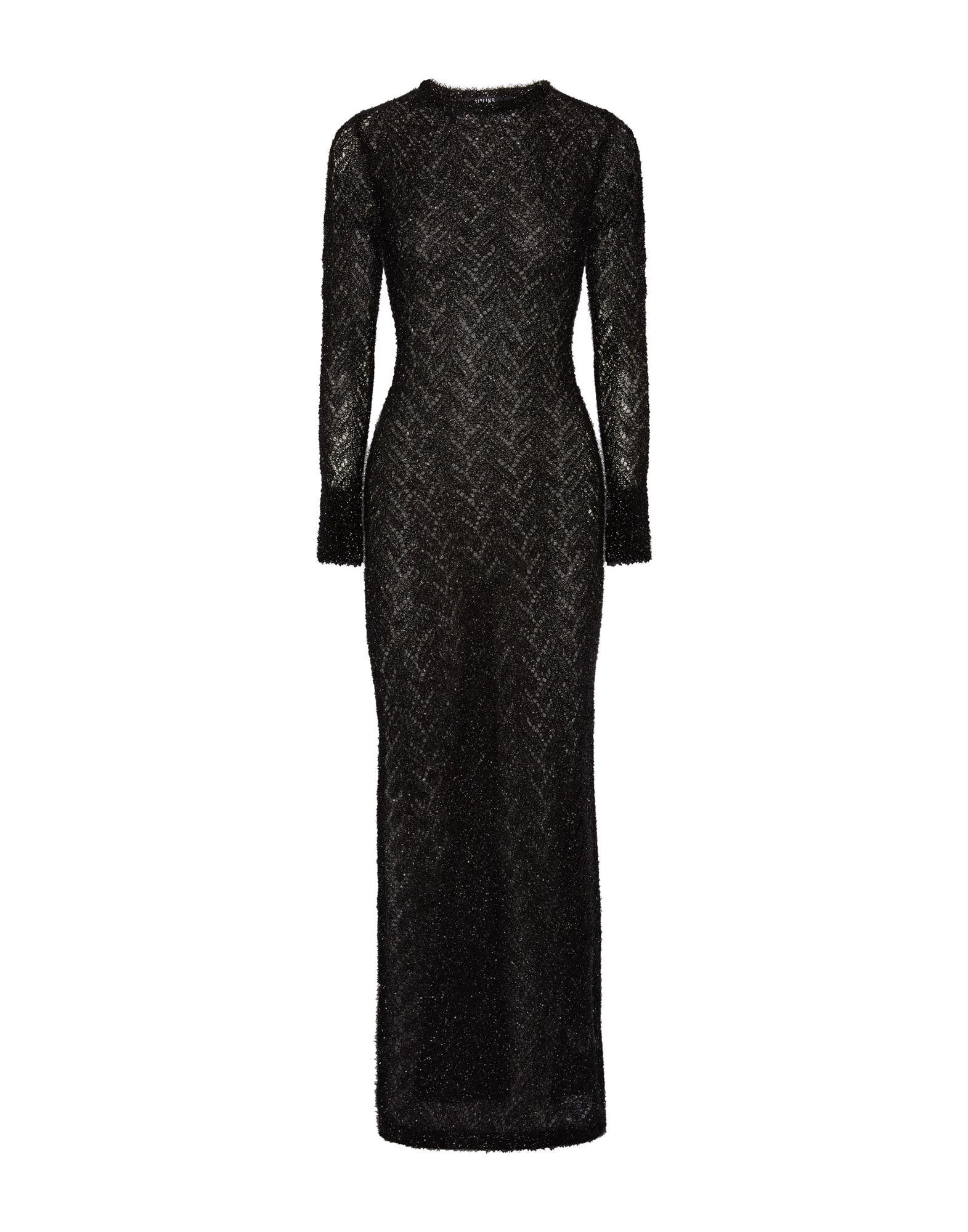 Sibling Long Dress In Black