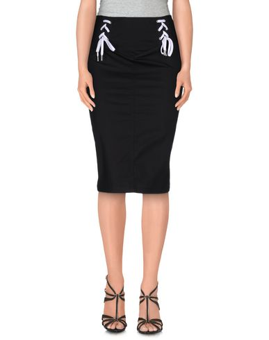 Love Moschino 3/4 Length Skirts In Black