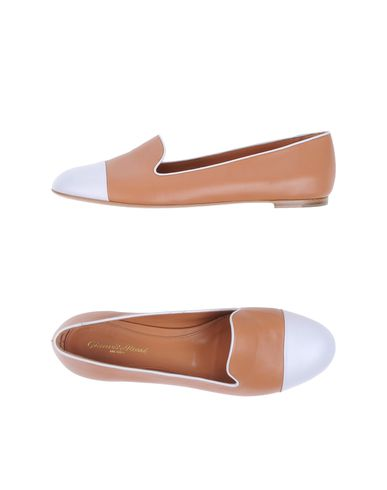 Gianvito Rossi Loafers In Camel