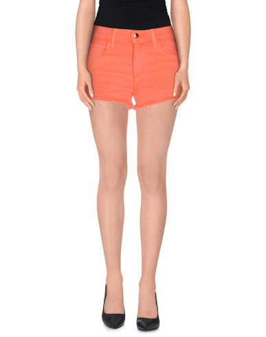 Joe's Jeans Denim Shorts In Orange