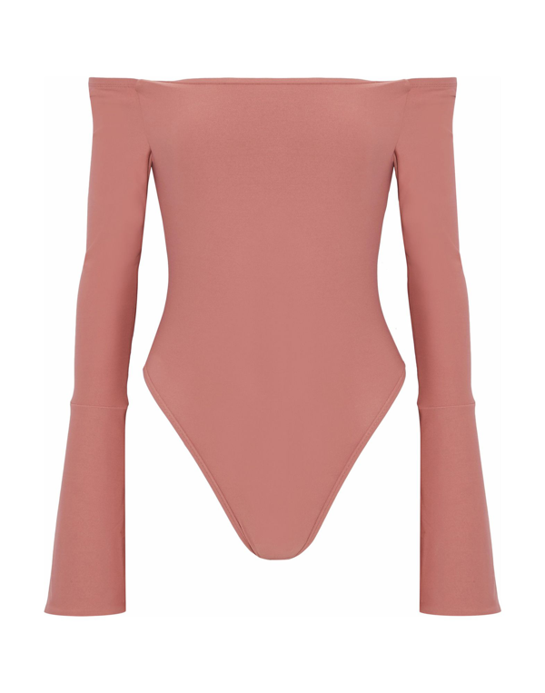 Alix Bodysuits In Pale Pink
