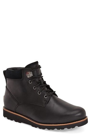 Ugg 'seton' Waterproof Chukka Boot (men) In Black