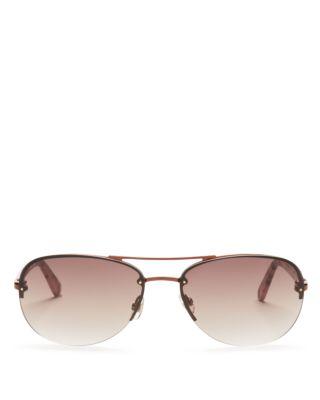 695ebe530 Kate Spade Beryl Small Aviator Sunglasses In Brown   ModeSens
