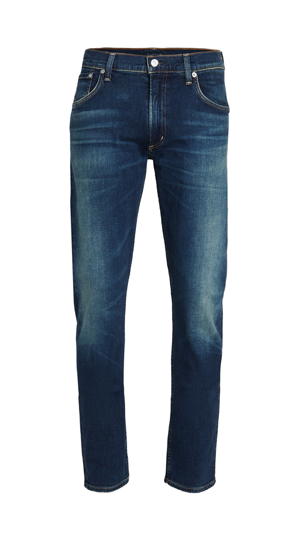 Citizens Of Humanity Bowery Standard Slim Denim Jeans In Blue