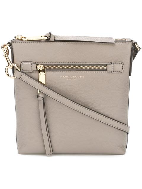 Marc Jacobs Recruit North/south Leather Crossbody Bag - Beige In Neutrals