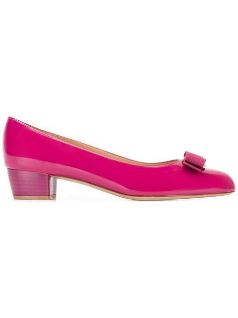 Salvatore Ferragamo 'vara' Pumps - Pink