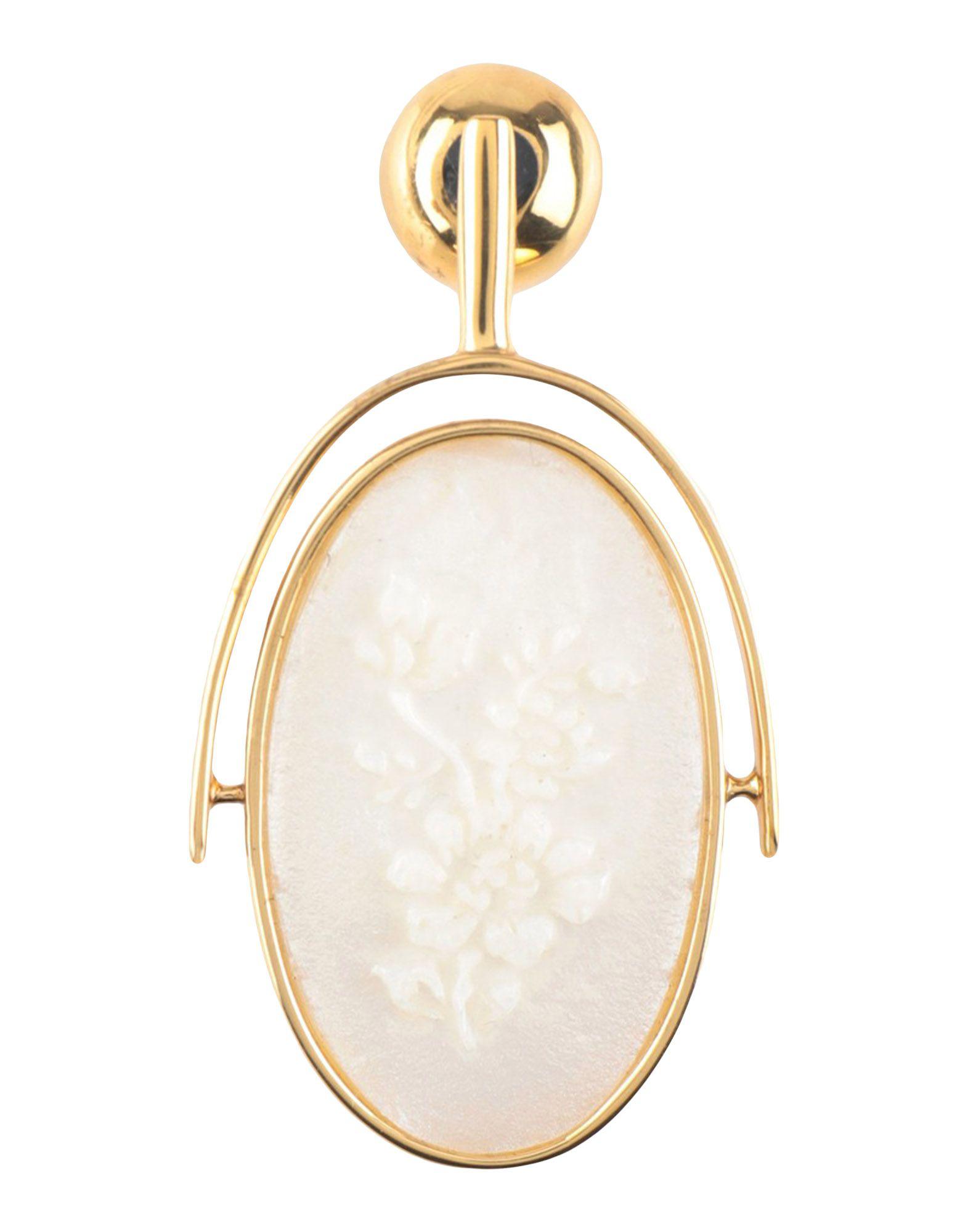 Ellery Earring In White