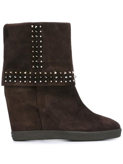 Le Silla Concealed Platform Studded Boots