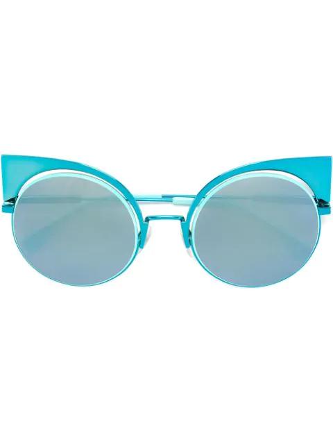 Fendi Eyewear 'eyeshine' Sunglasses - Blue