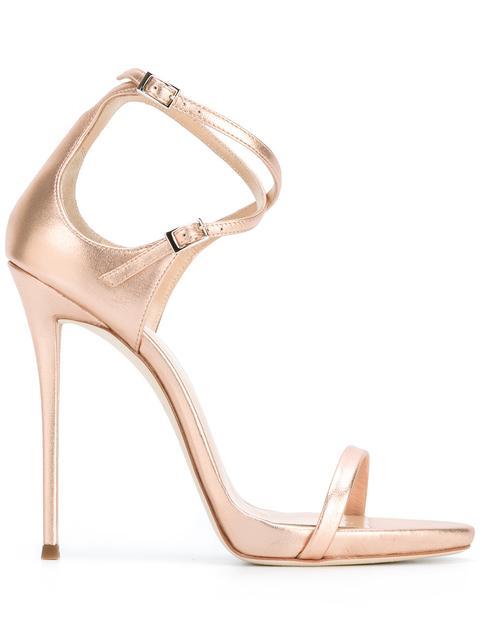 Giuseppe Zanotti 'darcie' Sandals In Pink
