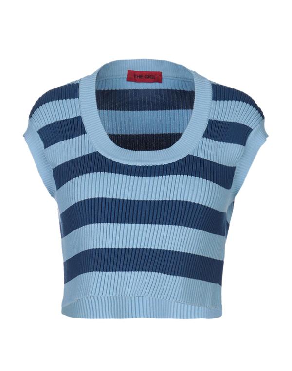 The Gigi Sweater In Blue