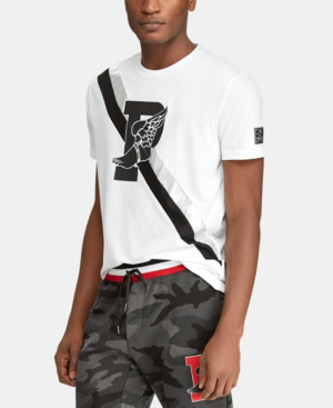 6917958b Polo Ralph Lauren Men's Active Fit P-Wing T-Shirt, Created For Macy's