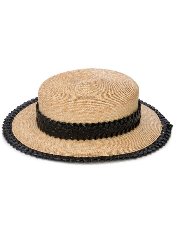 Gigi Burris Millinery Agnes Straw Hat In Neutrals