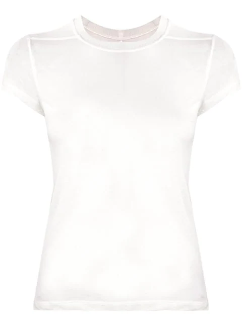 Rick Owens Knitted White T-shirt