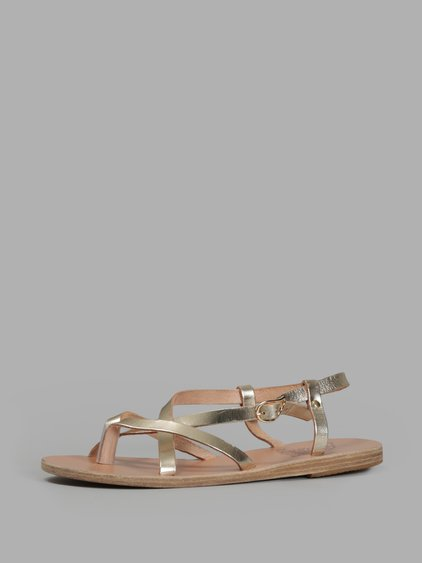 Ancient Greek Sandals Women's Gold Sandals