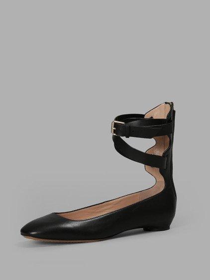 Valentino Black Flats