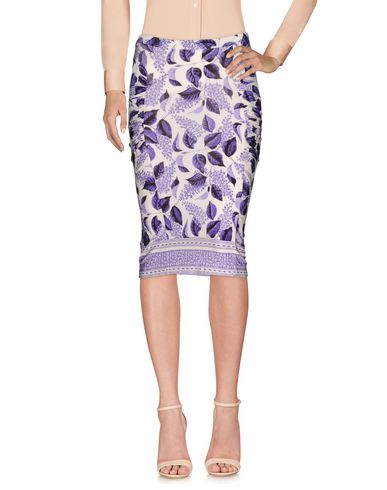 Just Cavalli Knee Length Skirts In White