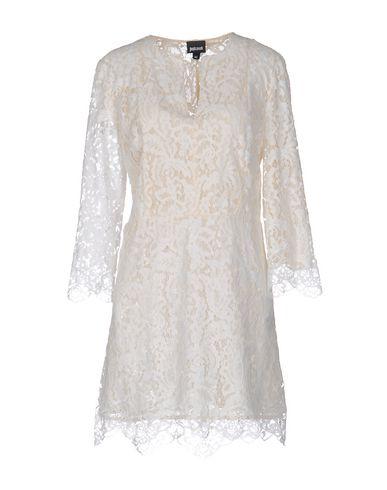 Just Cavalli Short Dress In Ivory