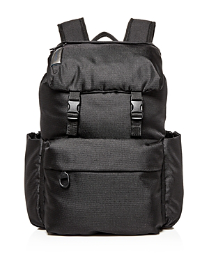 Mandarina Duck Md Lifestyle Backpack With Flap In Black  3ae9901e3ff57