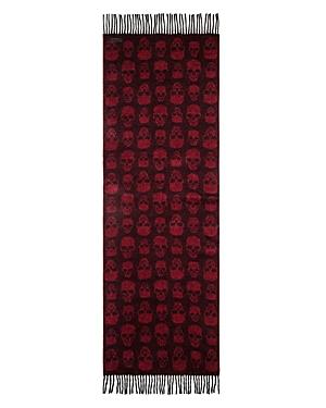87bd01c77e The Kooples Skull Scarf In Red/Black | ModeSens