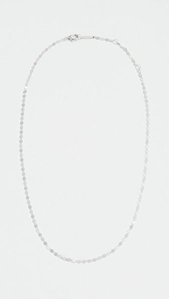 Lana Nude Chain Choker in 14K White Gold