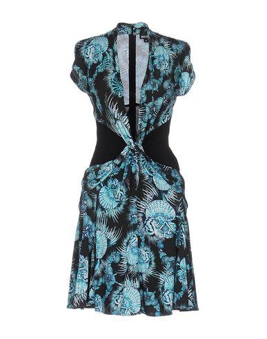 Just Cavalli Short Dresses In Turquoise