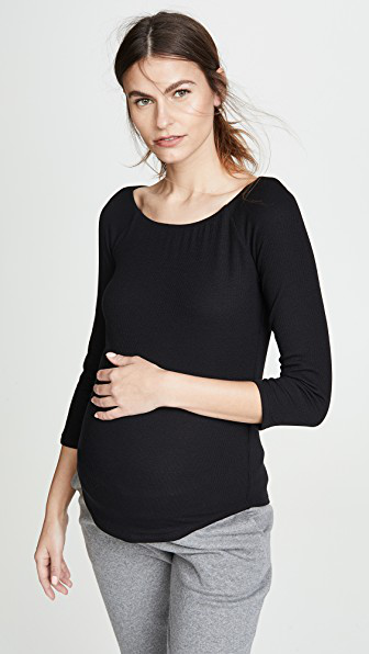 Hatch The Pia Top In Black
