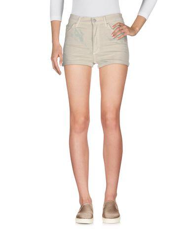 Cheap Monday Denim Shorts In Beige
