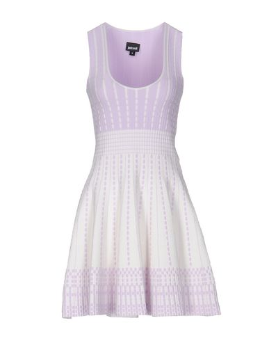 Just Cavalli Short Dress In Lilac