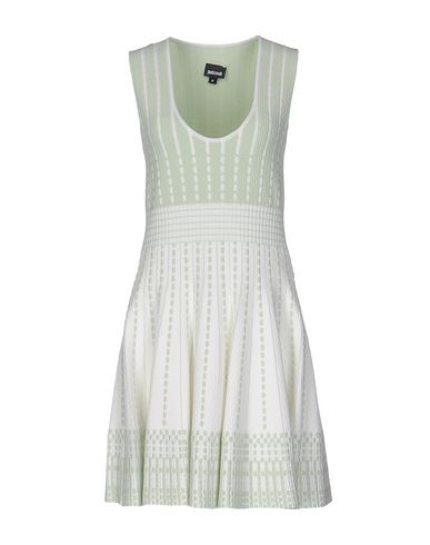 Just Cavalli Short Dress In Light Green