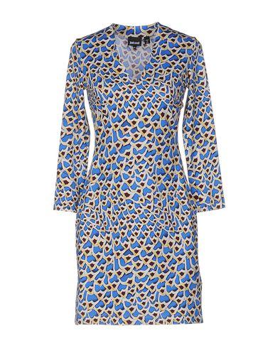 Just Cavalli Short Dress In Blue