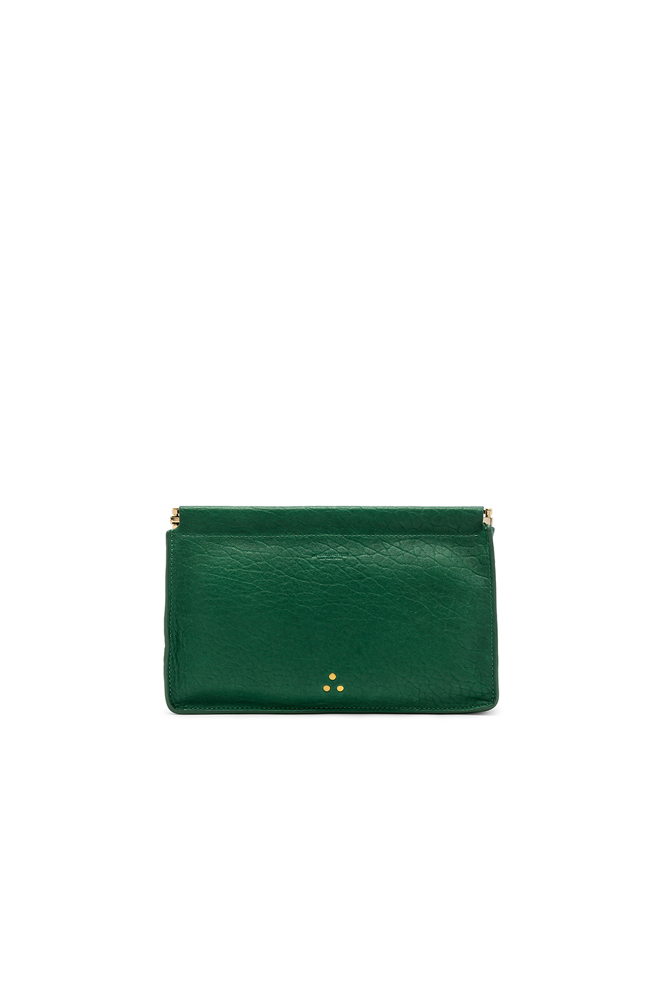 4225cd0b91270 JÉRÔMe Dreyfuss Jerome Dreyfuss Clic Clac Large Clutch In Vert In Green