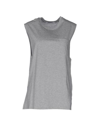 T By Alexander Wang T-shirts In Grey