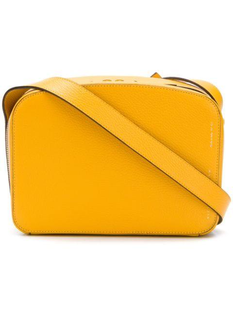 Victoria Beckham Zip-around Camera Bag In Yellow