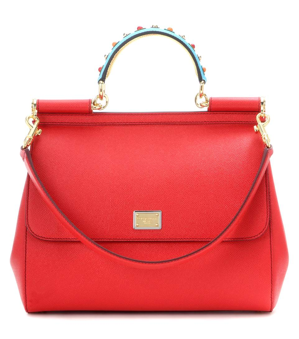 Dolce & Gabbana Exclusive To Mytheresa.com - Sicily Embellished Leather Tote
