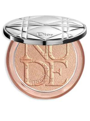 Dior Skin Nude Luminizer Shimmering Glow Powder In 01 Nude Glow