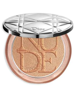 Dior Skin Nude Luminizer Shimmering Glow Powder In 04 Bronze Glow