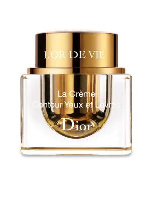 Dior Women's L'or De Vie La Crème Yeux Et Lèvres In No Color