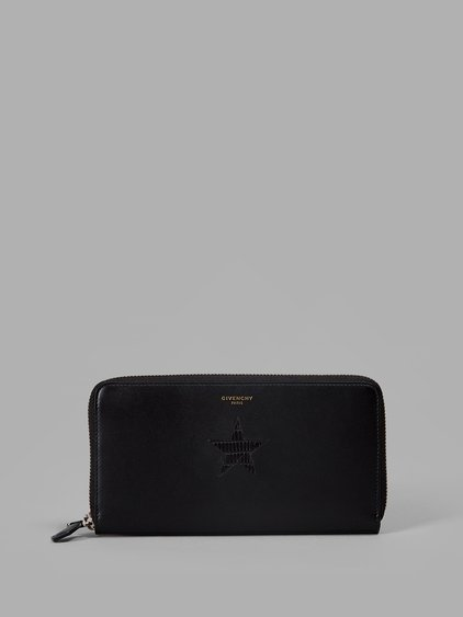 Givenchy Star Patch Zipped Wallet