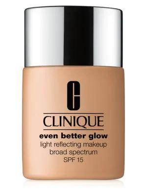 Clinique Women's Even Better Glow Light Reflecting Makeup Broad Spectrum Spf 15 In Brown